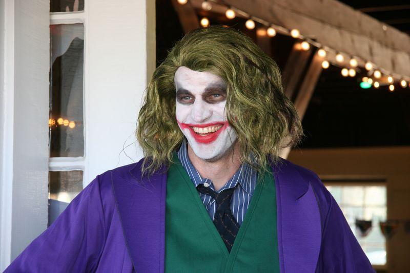Tom as the Joker